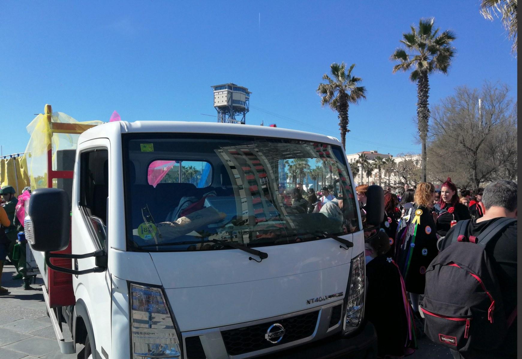 Camió amb dj