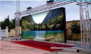 Cinema amb pantalla Led
